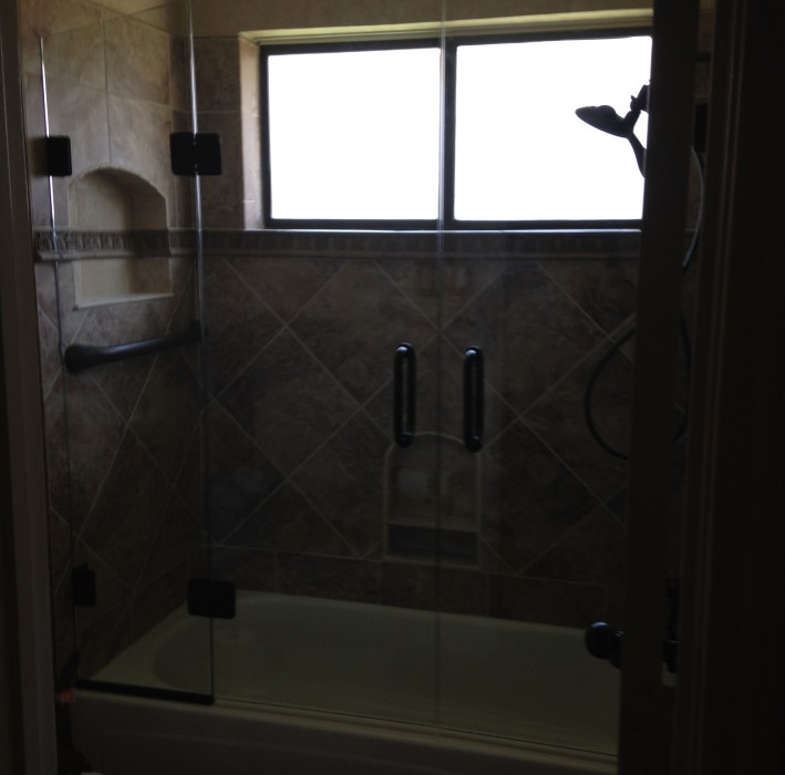 Frameless Glass Bathtub Doors Dallas TX – Frameless Glass Bathtub Doors Fort Worth TX - DFW Bath and Glass