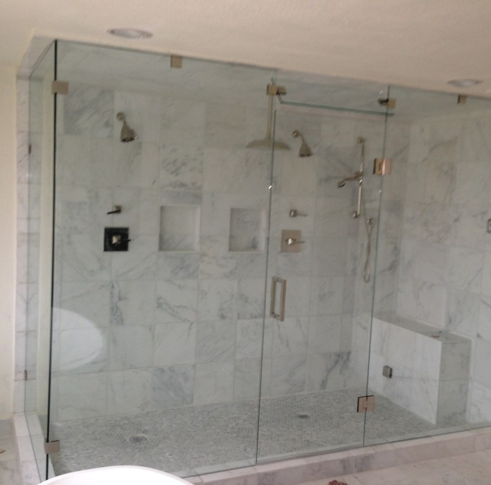 Frameless Glass Shower Doors Dallas Fort Worth DFW Bath Glass - Seamless bathroom shower doors