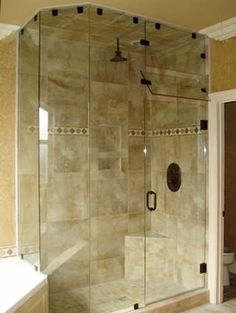 H 28 Pivot Door Within Glass Towel Hook