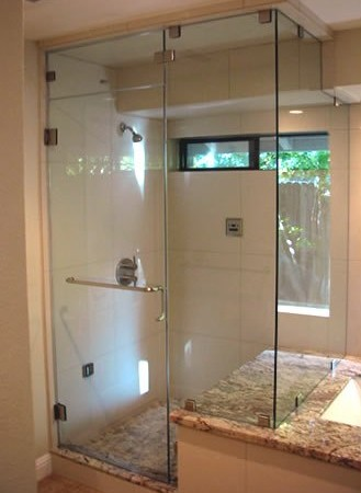 H 28 Pivot Door Within Glass Towel Hook