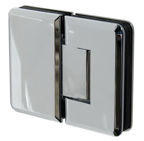 Traditional 180 Degree Glass to Glass Hinge Beveled Edge