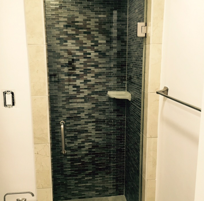 frameless shower Dallas TX