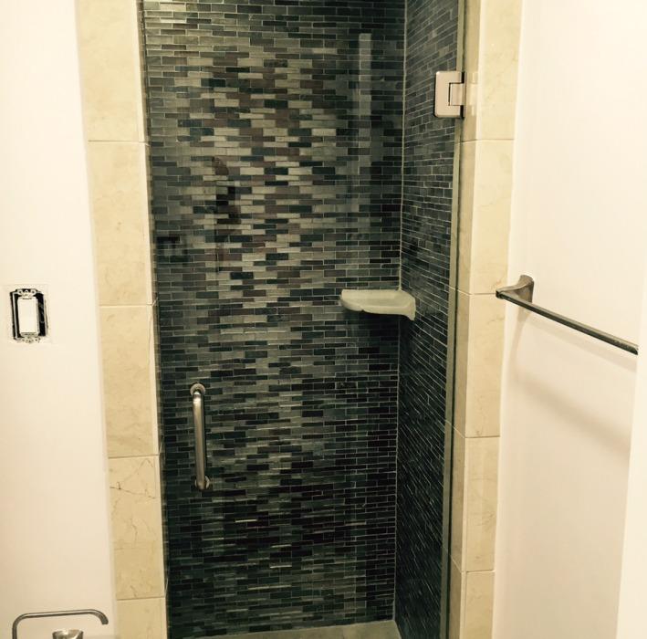 frameless shower Dallas TX