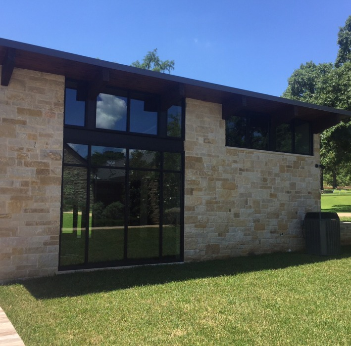 glass window and door installation