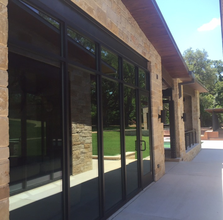 glass window and door installation