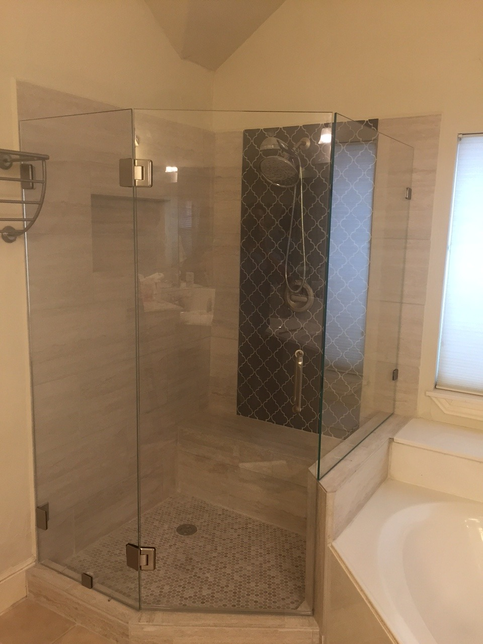 Sonya Shower Neo Angle - DFW Bath and Glass