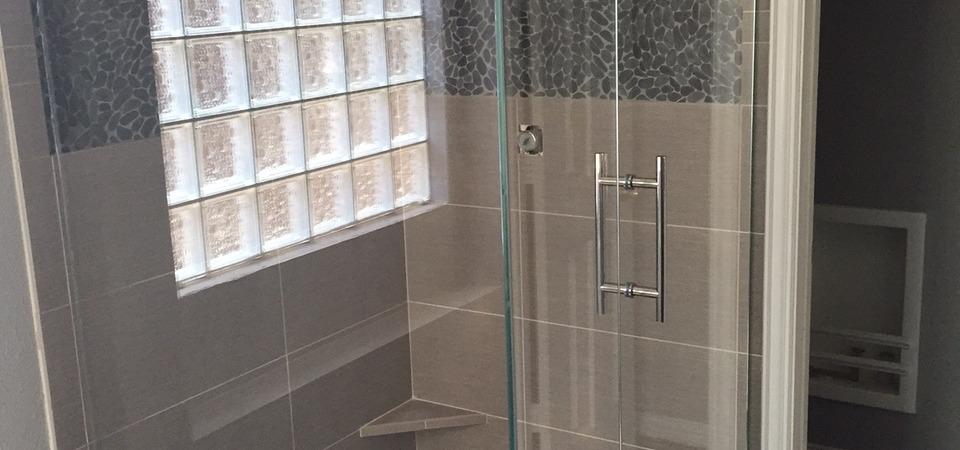 Star Fire Framless Glass Shower