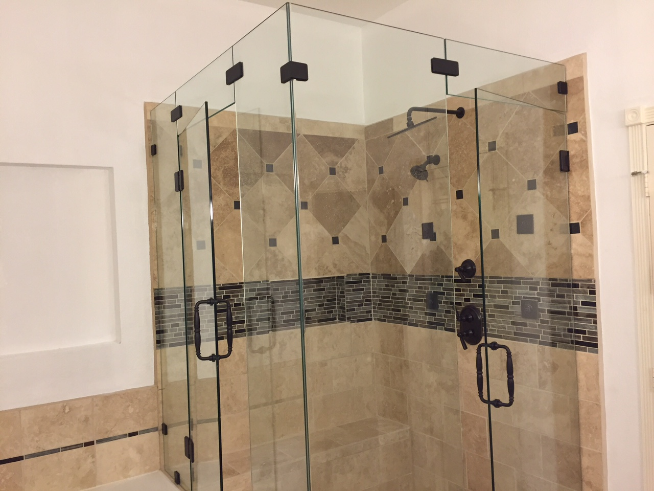 Frameless Shower Portfolio page, example pictures of our work!