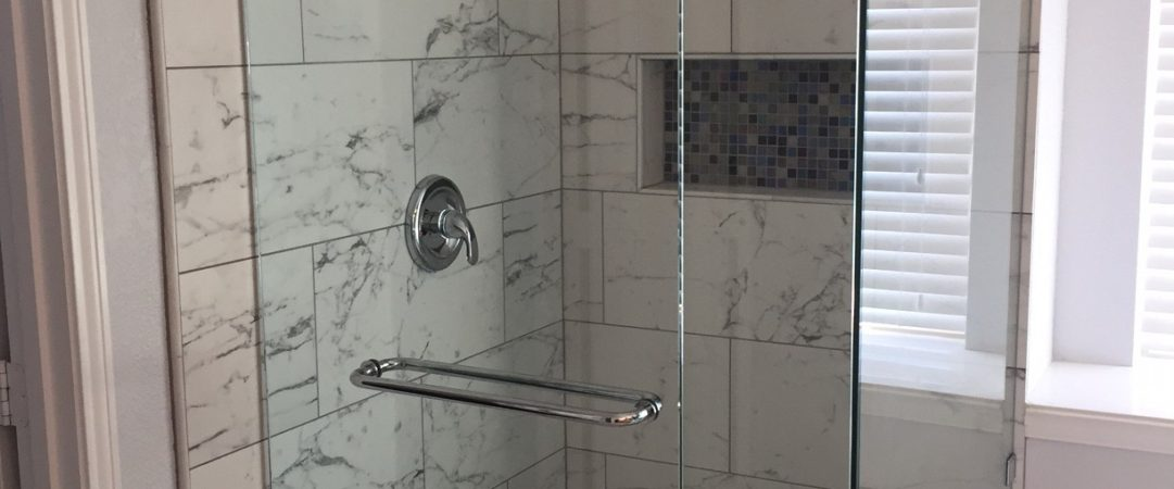 Marble Frameless Shower