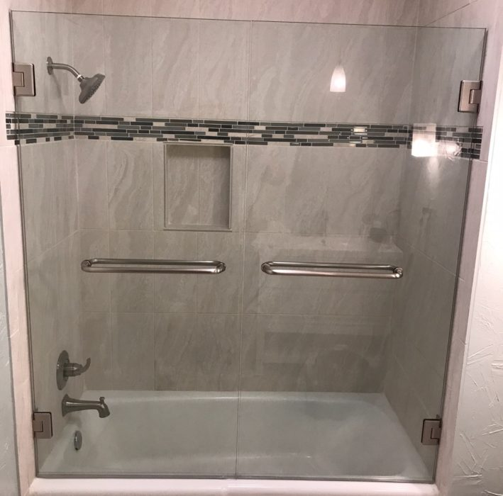 Frameless Bath tub