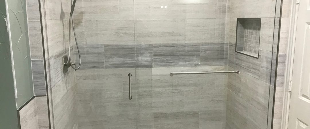 Gray Frameless Shower 3